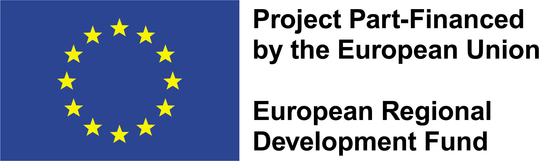 Logo 2 EU Flag ERDF